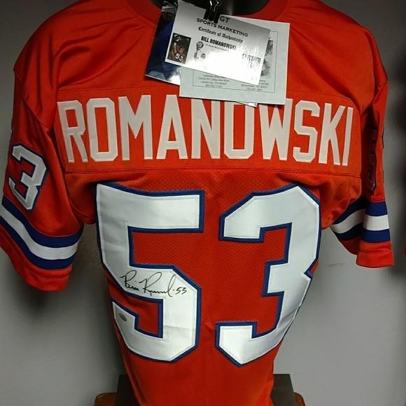 d1f6c5e77 NFL Shirts | Bill Romanowski Broncos Autographed Jersey | Poshmark